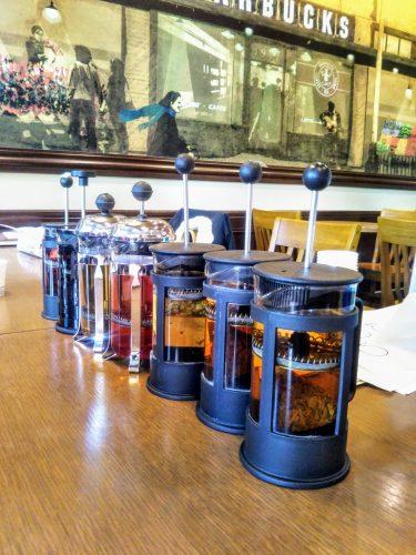 スタバで紅茶のワークショップ体験