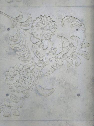 東洋文庫ミュージアム外観の壁