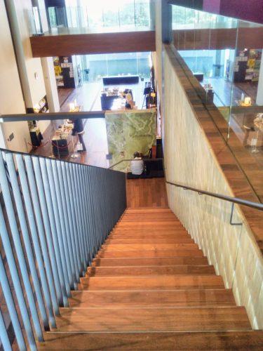 東洋文庫ミュージアム階段